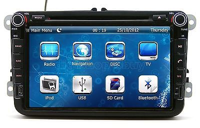 374 00 8 Car Radio Dvd Player Gps Navigation For Skoda Superb
