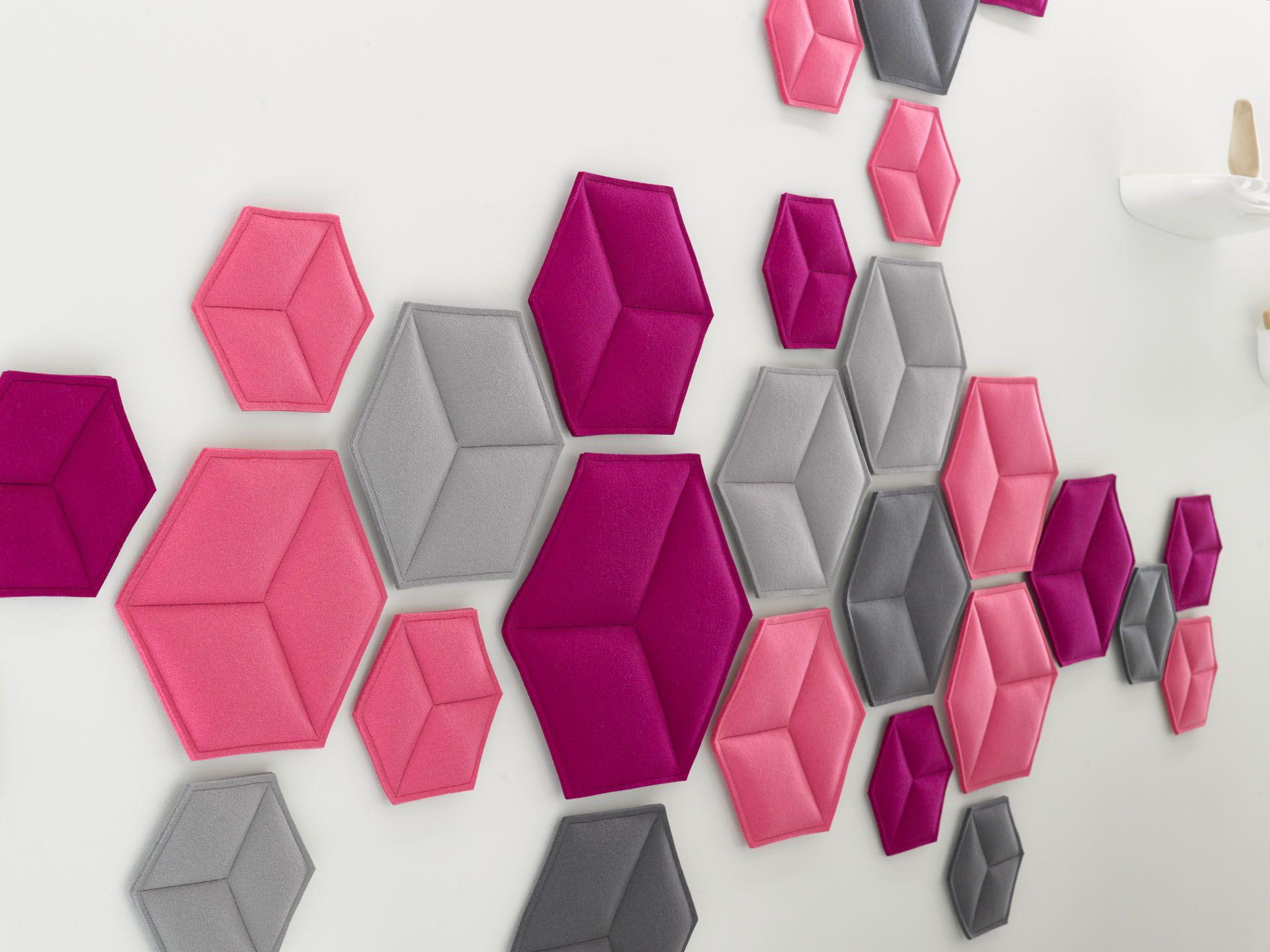 Wandobject Hexagon   Zenber Architecten