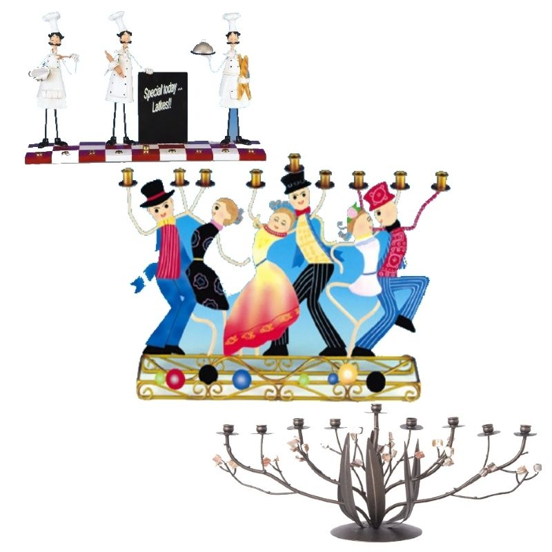 Hanukkah Menorahs Whimsical & Fun - ahuva