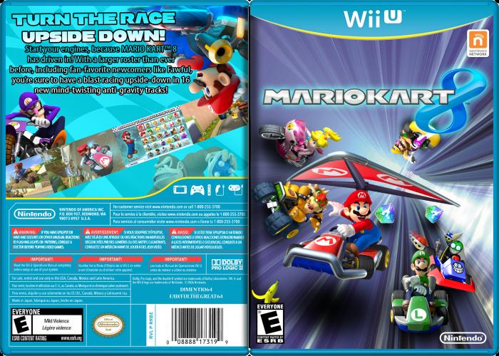 Mario Kart 8 Wii U Box Art Cover by dimentio64 ...