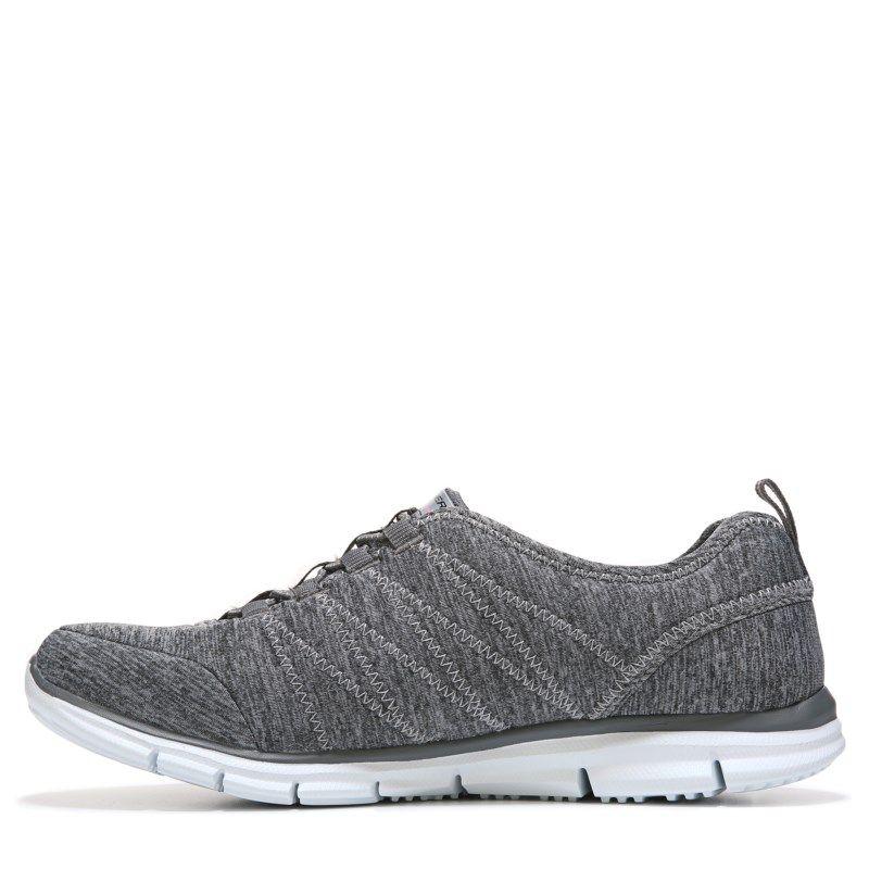 Skechers Women's Glider Electricity Memory Foam Sneakers (Grey) - 10.0 M