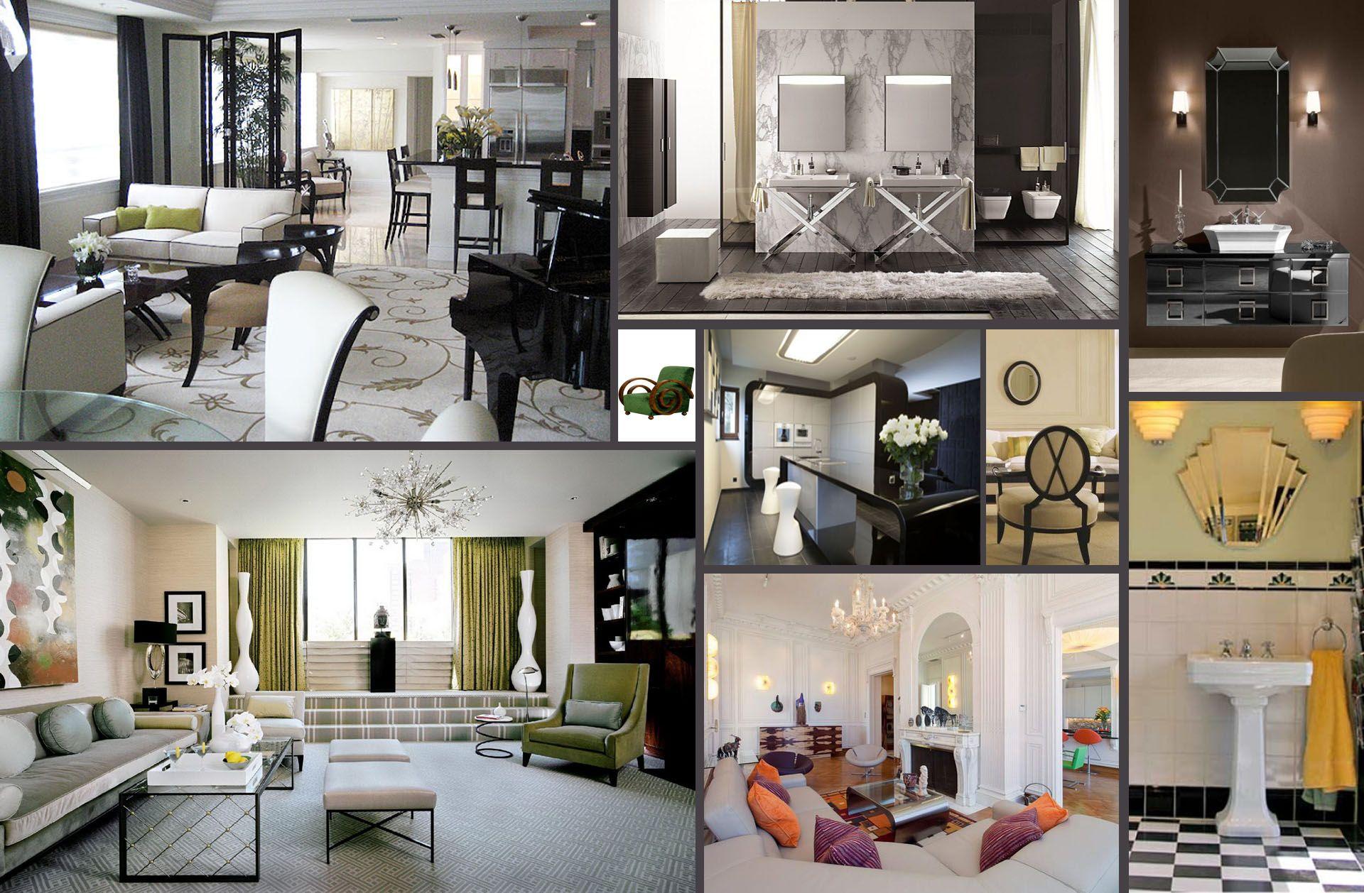 Explore Art Deco Interiors and more! https://www.google.pl/search?q=wntrza  w