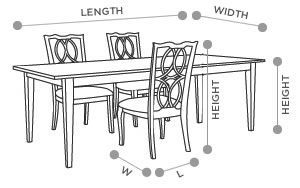 Wexford 6 Pc Counter Height Dining Set W Bench