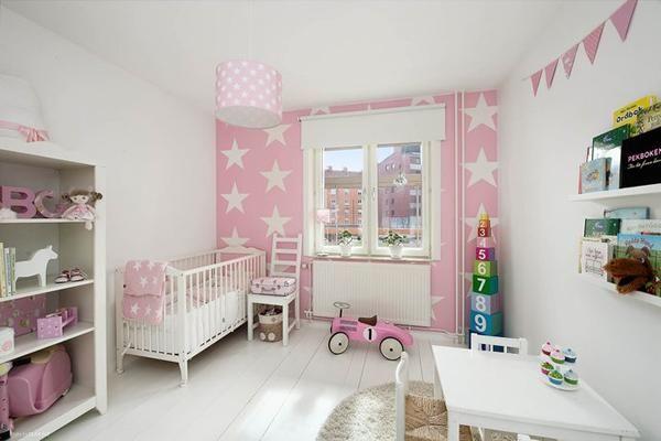 6 habitaciones en rosa con inspiración nórdica Girls Room Pinterest - schlafzimmer einrichten rosa