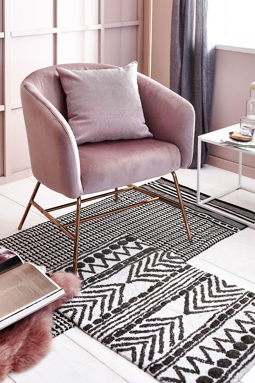 Ein Stylisher Blickfang In Jeder Wohnumgebung Mit Diesem Loungesessel In Dezentem Altrosa Beweisen Du Geschmack In 2020 Lounge Sessel Sessel Wohnzimmerdekoration