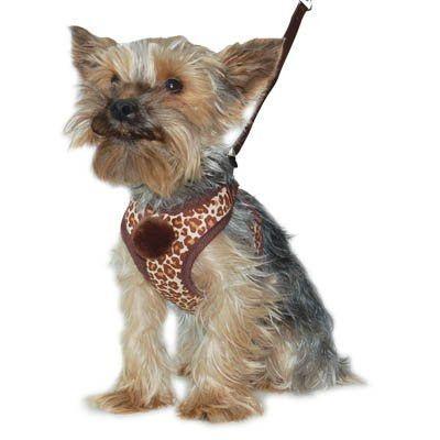 Easygo Soft Step In Dog Harness Leopard Print Dog Harness Dog