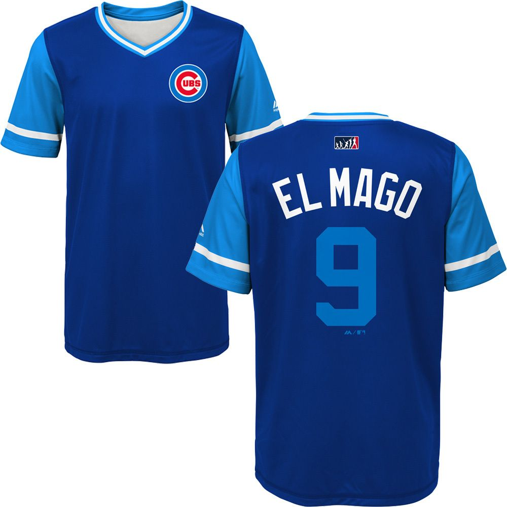 1745fbb6 Javier Baez Chicago Cubs 2018 Players Weekend Youth Sublimated Jersey Top  By Majestic #JavierBaez #ChicagoCubs #PlayersWeekend #EverybodyIN #FlyTheW # Cubs