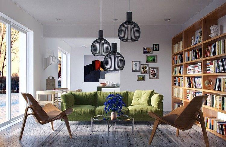 Die Beleuchtung Als Dekoration Für Wohnzimmer   Pendelleuchten