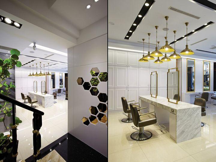 Happy Hair Salon Hair Spa By 90id Interior Design Taichung Taiwan Retail Design Blog Salon Interior Design Beauty Salon Interior Hair Salon Interior
