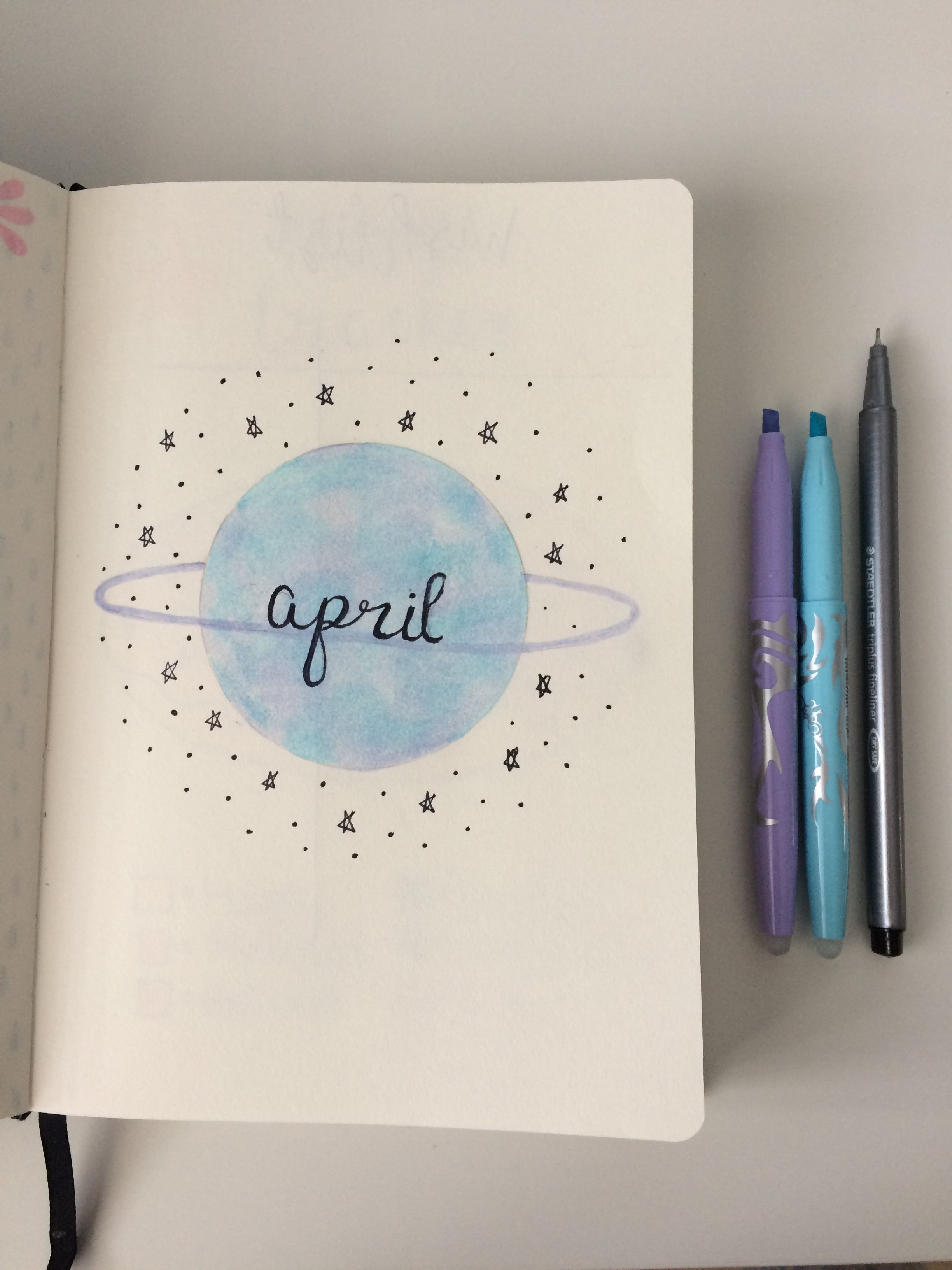 April title page