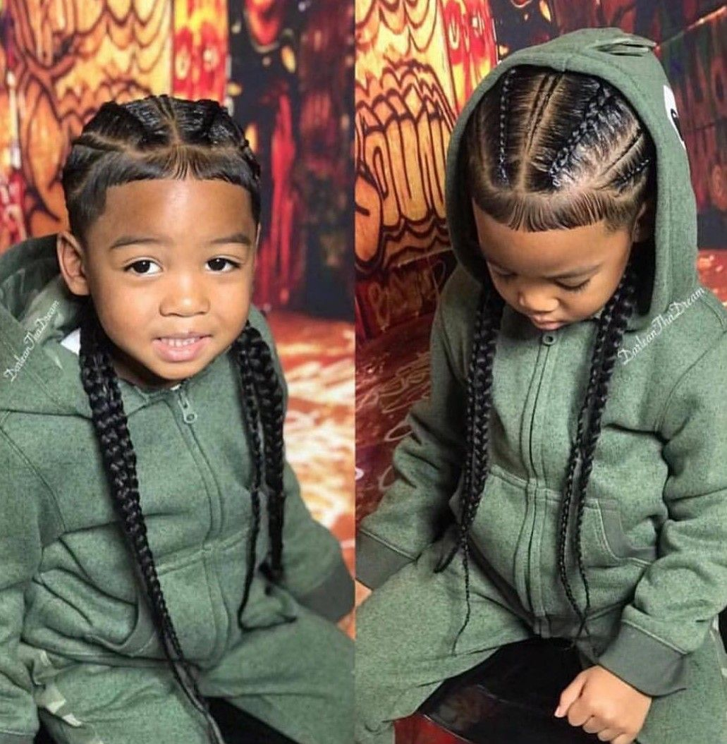 Pin By Arielle Hall On O Yes She Did Hair Boy Braids Hairstyles Boy Hairstyles Little Boy Hairstyles