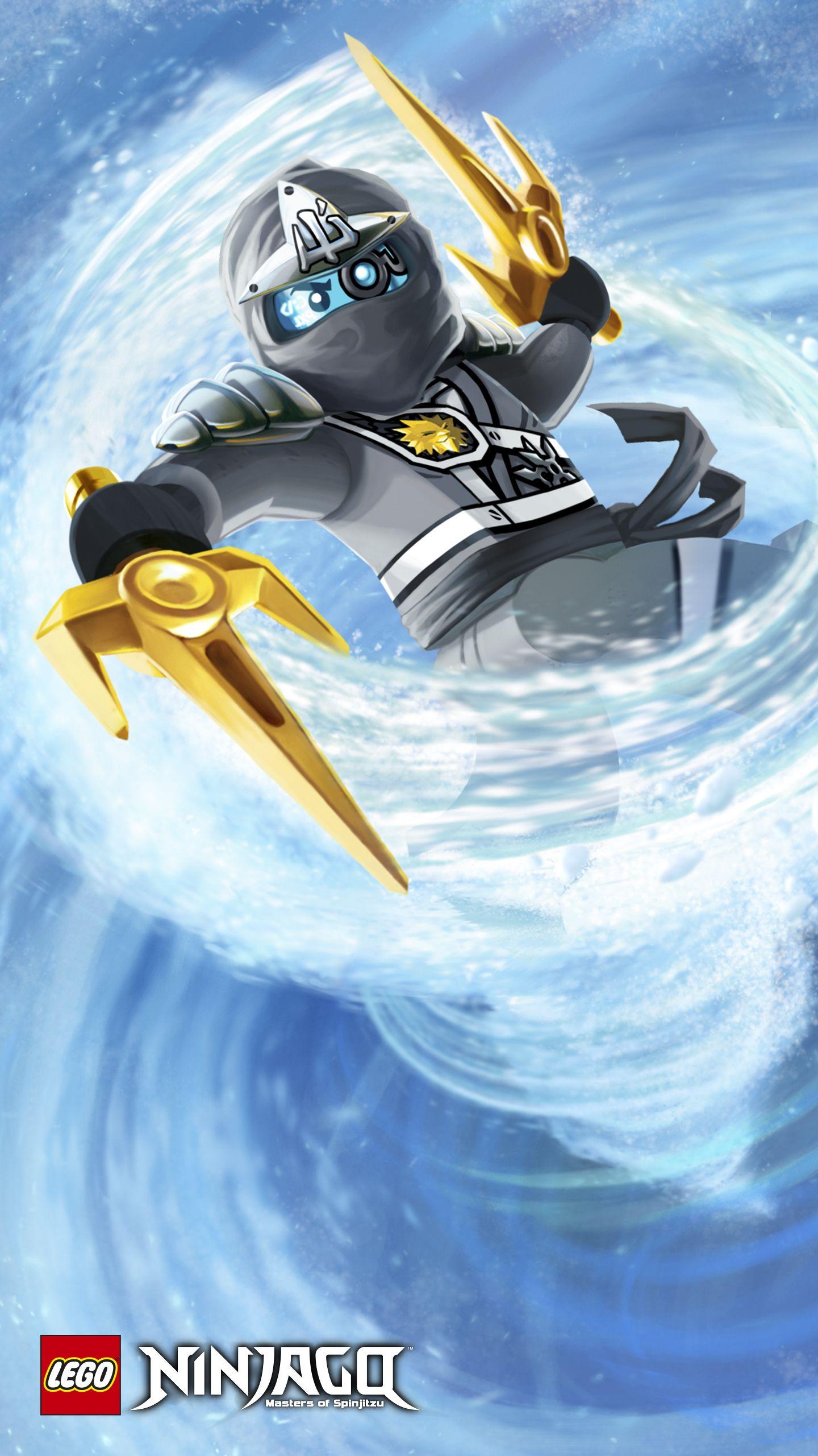 Ninjago zane 5 1440 2560 basteln for Kinderzimmer ninjago