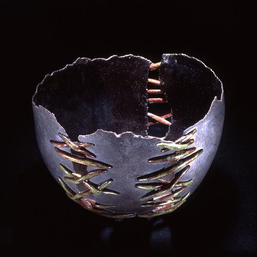 Youliana Manoleva · raku. #raku #cermic #pottery #boul