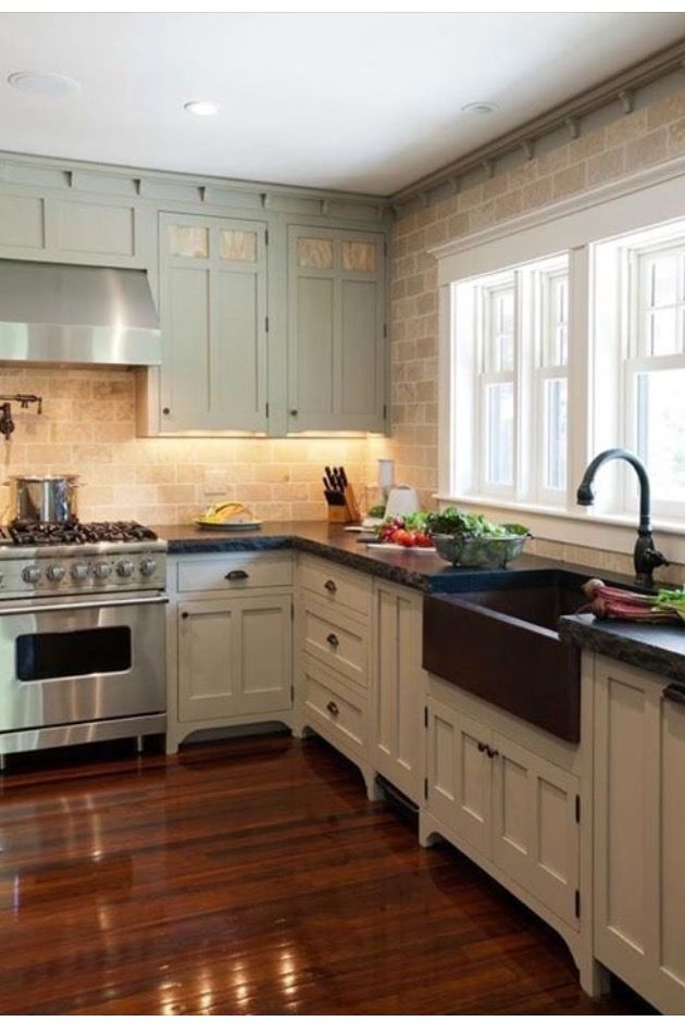 pin by karen butts on kitchens kitchen cabinet styles bungalow rh pinterest com