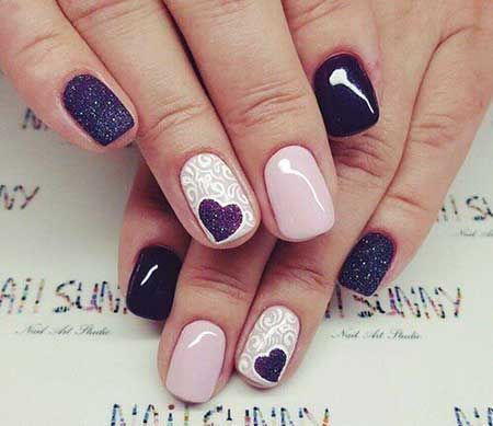 65 happy valentines day nails for your romantic day