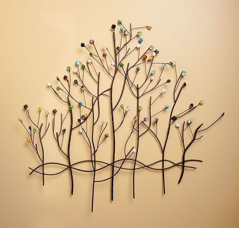 Metal tree wall decor | Metal Tree | Pinterest | Metal tree
