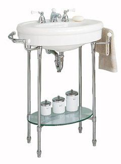 American Standard 1920 1930s Bathrooms Sinks Console Sink Traditional Bathroom Sinks Console Sinks
