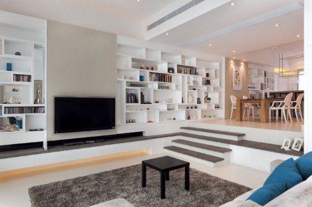 Salon design : connaissez-vous le canapé en contrebas?