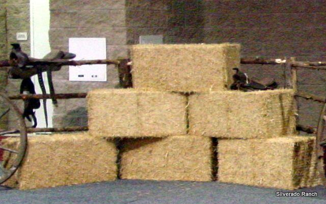 Fake Hay Bales To Make Hay Loft Photography Prop Ideas