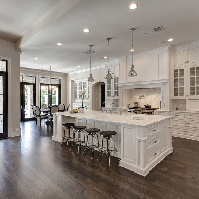40 Gorgeous and Luxury White Kitchen Design Ideas | Fort worth ...