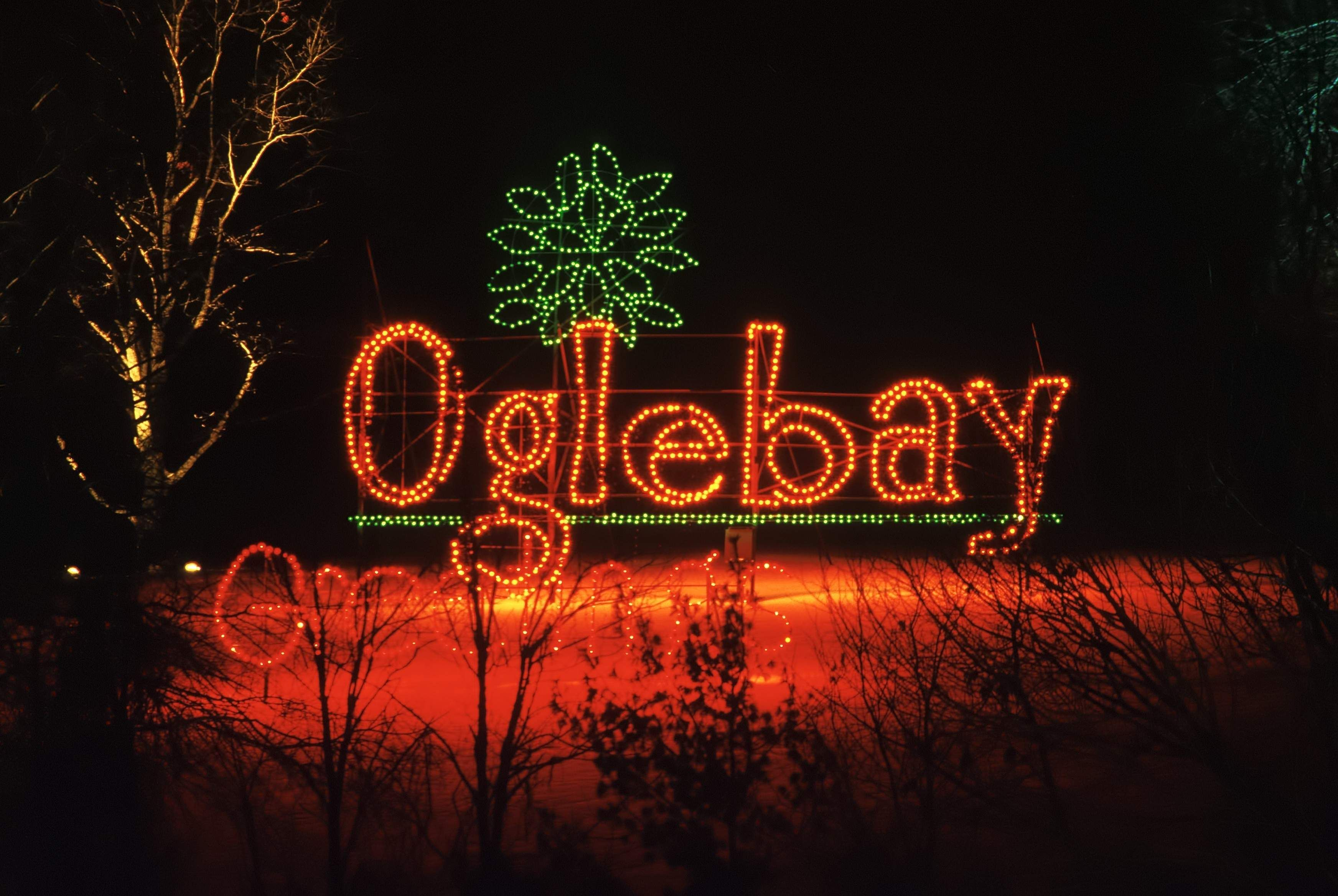 Map A guide to holiday lights shows around WV (With