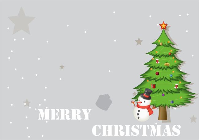 A Free Customizable Tree Christmas Card Template Is Provided To Downloa Christmas Card Templates Free Personalised Christmas Cards Holiday Photo Cards Template