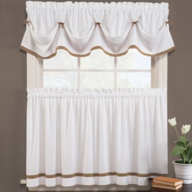 Kate Rod-Pocket Kitchen Curtains found at @JCPenney ...