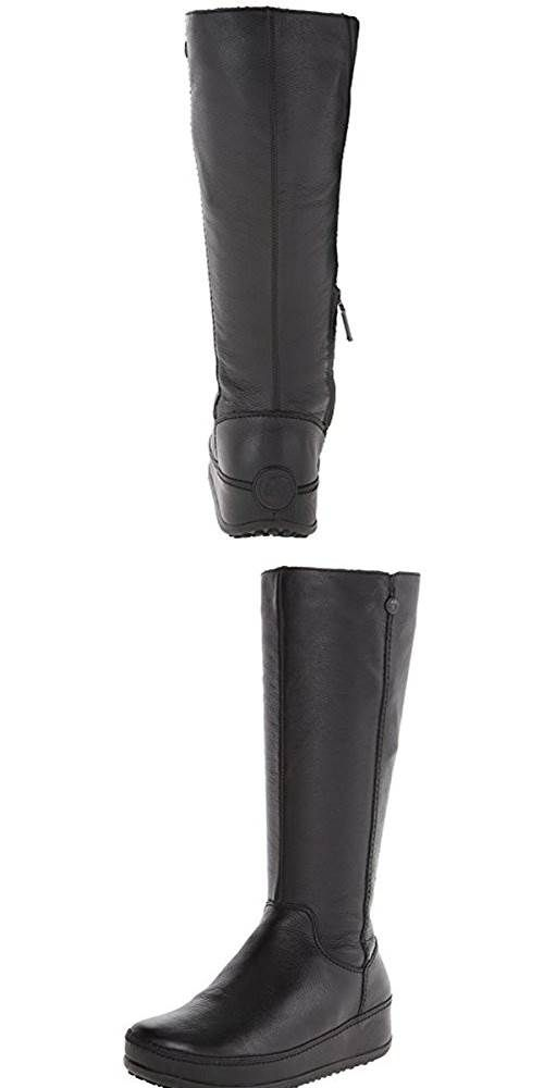 128daaa4505 FitFlop Womens Superboot Leather Boot  SHOES