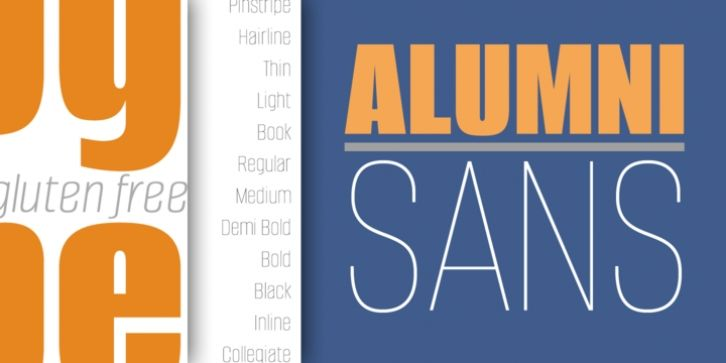 Alumni Font Download Lettering Professional Typefaces Alumni