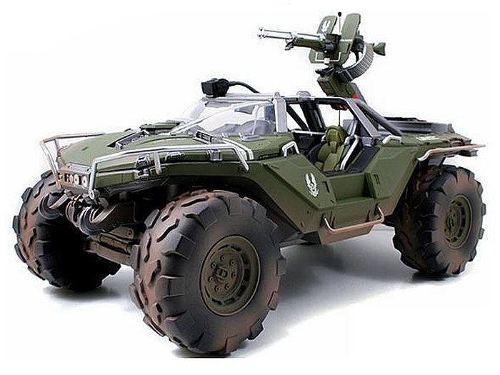 """HALO 14"""" UNSC Warthog Collector's Edition (with dirt details)"""