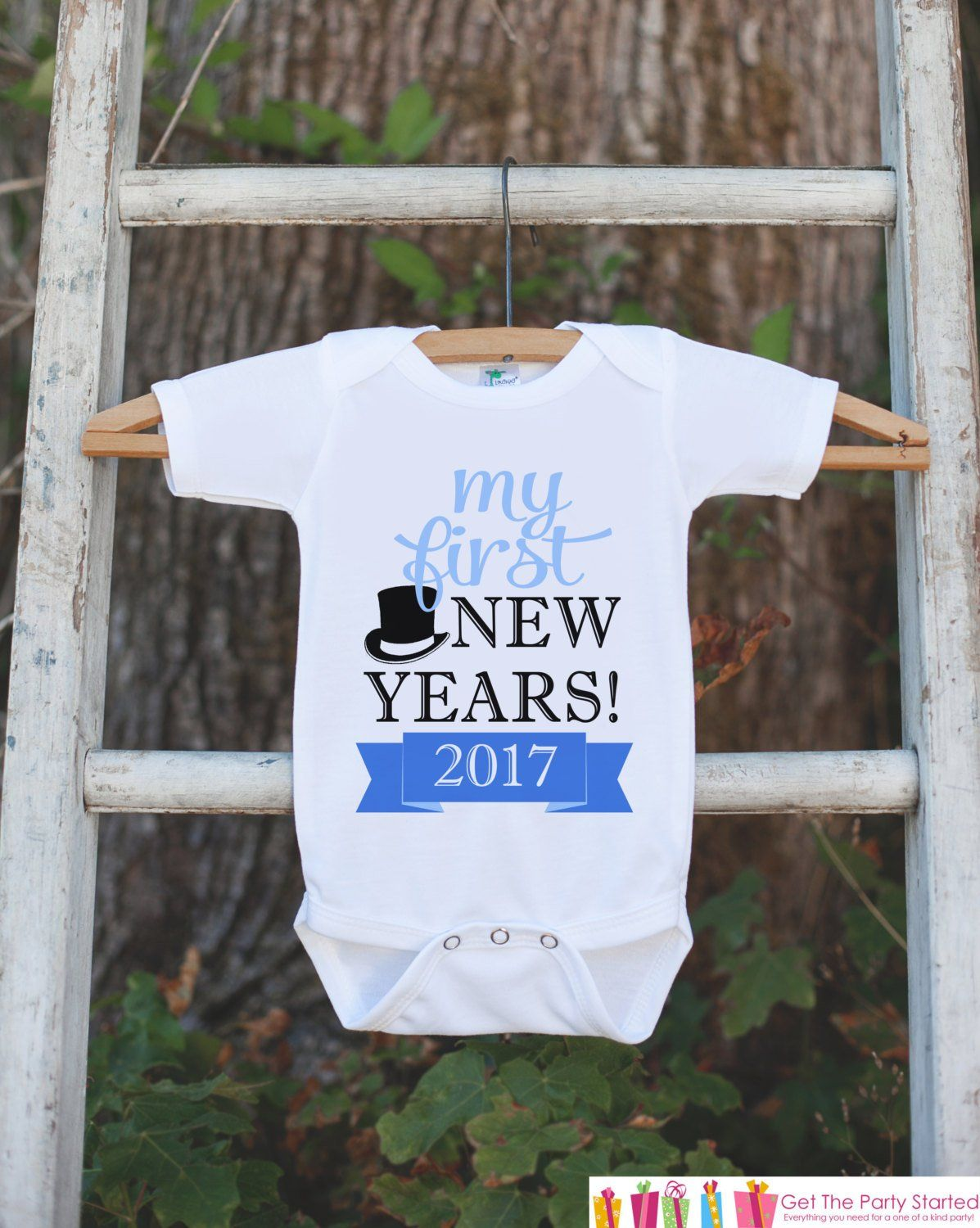 b1dca157a17a My First New Years Outfit - Happy New Years Eve Onepiece - Baby s ...