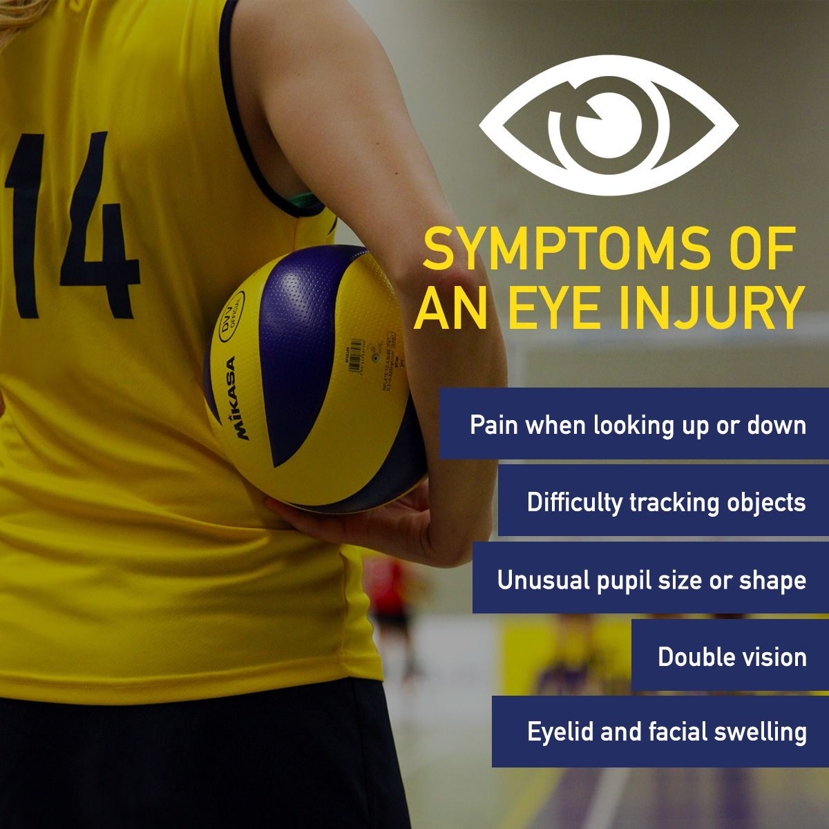 WE KNOW ATHLETES LIKE TO BE TOUGH, but these symptoms