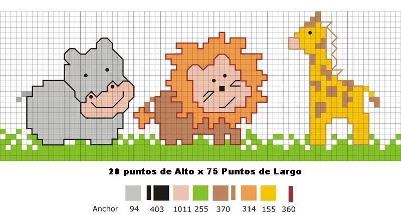 Patrones de punto de cruz gratis para bebés - Imagui | Cross Stitch ...
