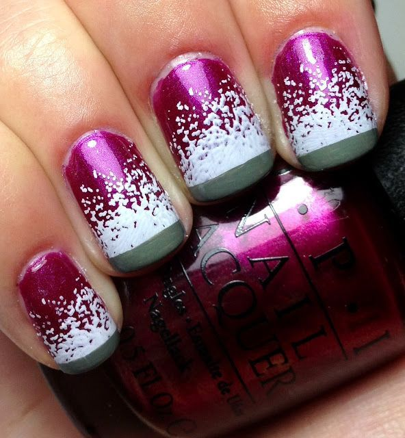 cute winter nails used