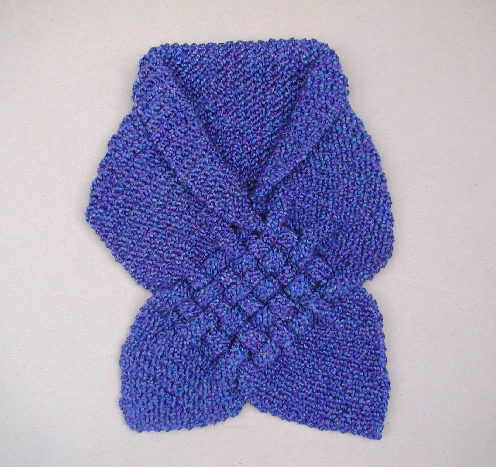 Bufanda en crochet bordados oma cosas para ponerse - Como hacer una bufanda de lana gorda ...