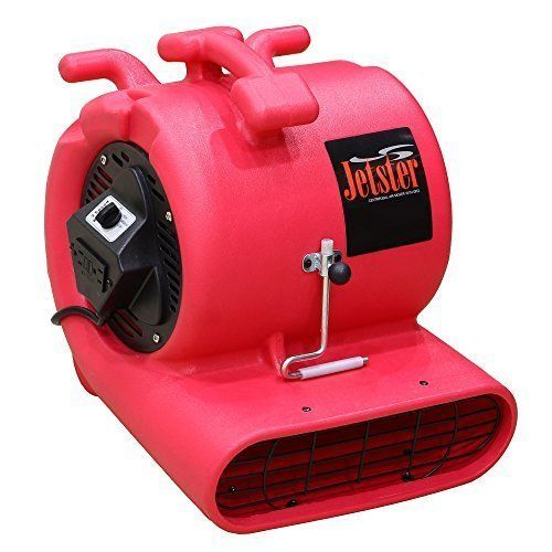 Bluedri Jetster 033 Hp Air Mover Carpet Dryer With Carpet Clamp Red For More Information Visit Image Link Air Conditioner Accessories Wet Surface Gfci