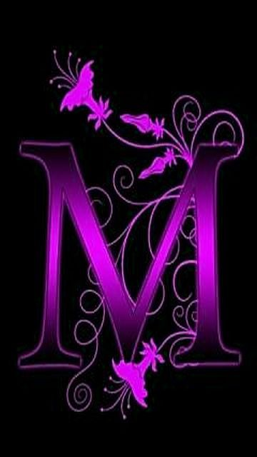 M&m Halloween Costume Diy : halloween, costume, Letter, M.......1, Purple, Love,, Things, Purple,, Butterfly, Wallpaper