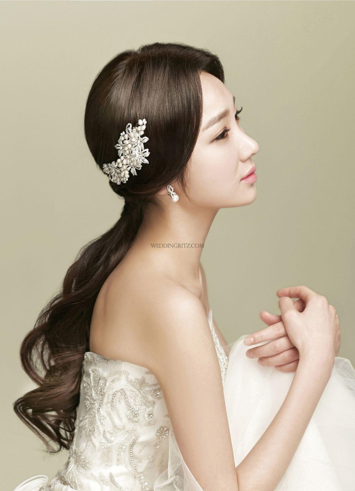 Pine Tree by Jin in Korea Hair & Makeup Sample | Wedding hair style ...