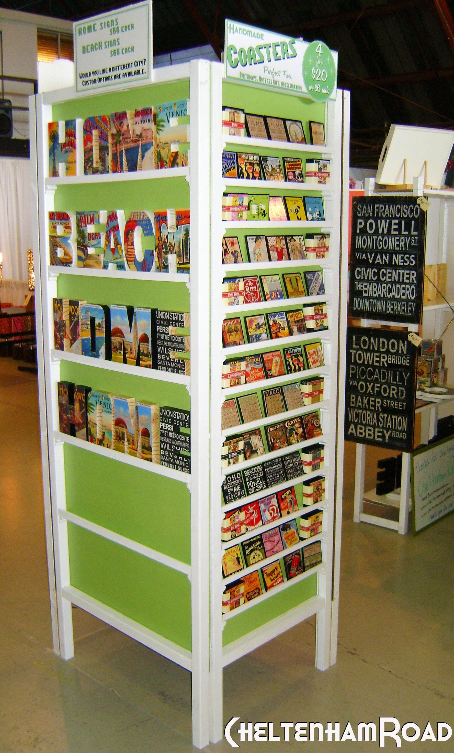 Easy craft show display tower tutorial and an upsetting for Easy craft fair ideas