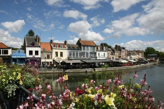 Amiens - quartier St Leu - quai Belu