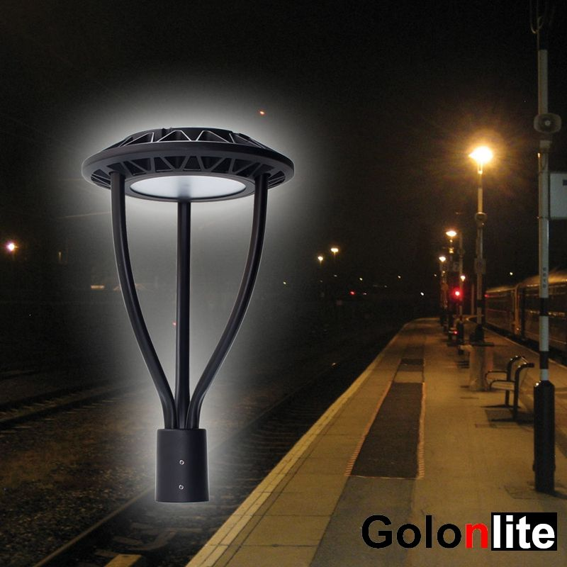 Led Post Top Light Fixtures Area Lighting Street Lamp Energy Saving Projects