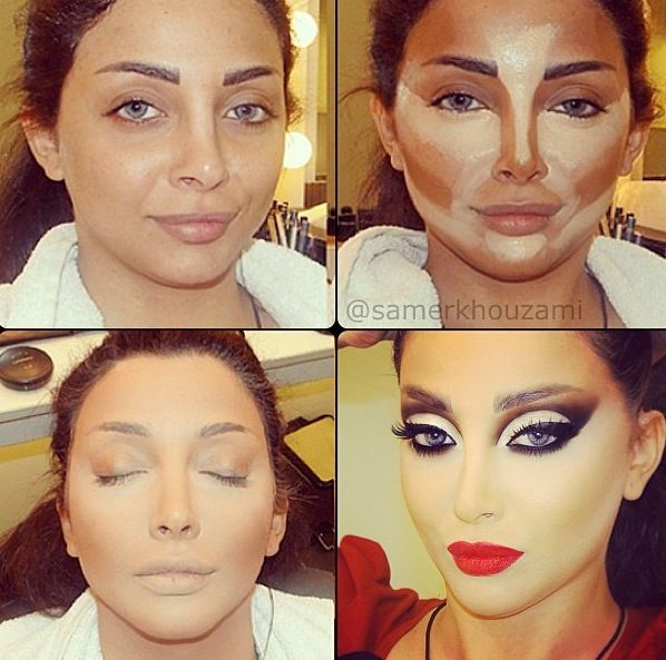 Make Up Tips Sculpting And Contouring | Make-Up | Pinterest | Contours Makeup And War Paint