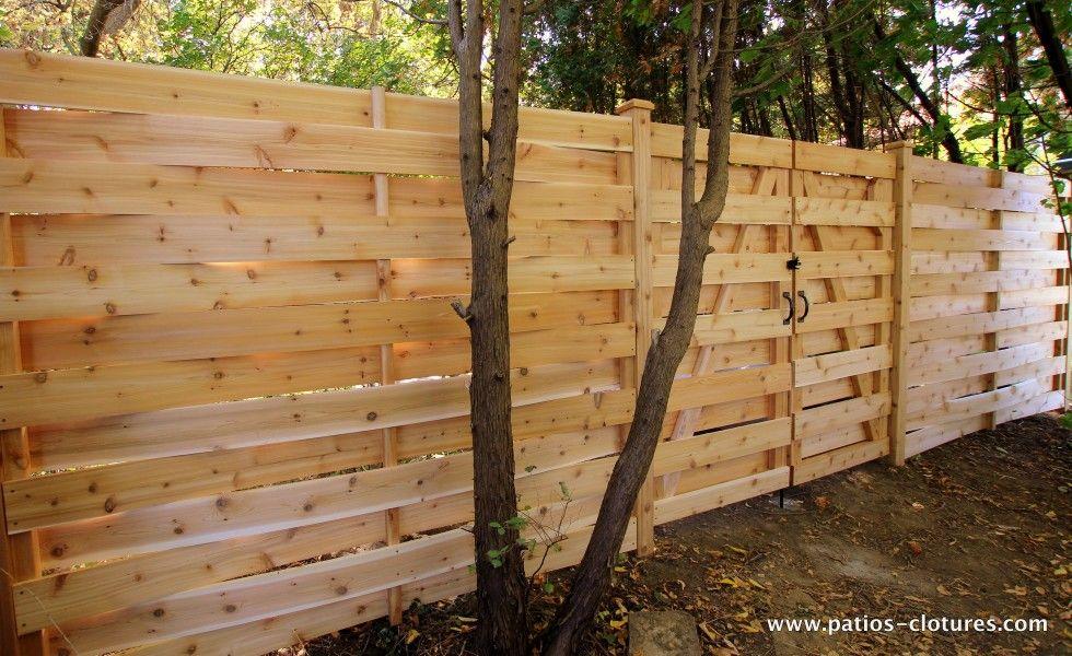 Porte de clôture double pour un modèle de clôture style ...
