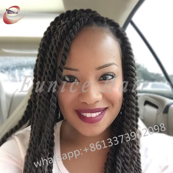 Fake Hair Braids Jumbo Twists African Braiding Hair Extensions Sexy