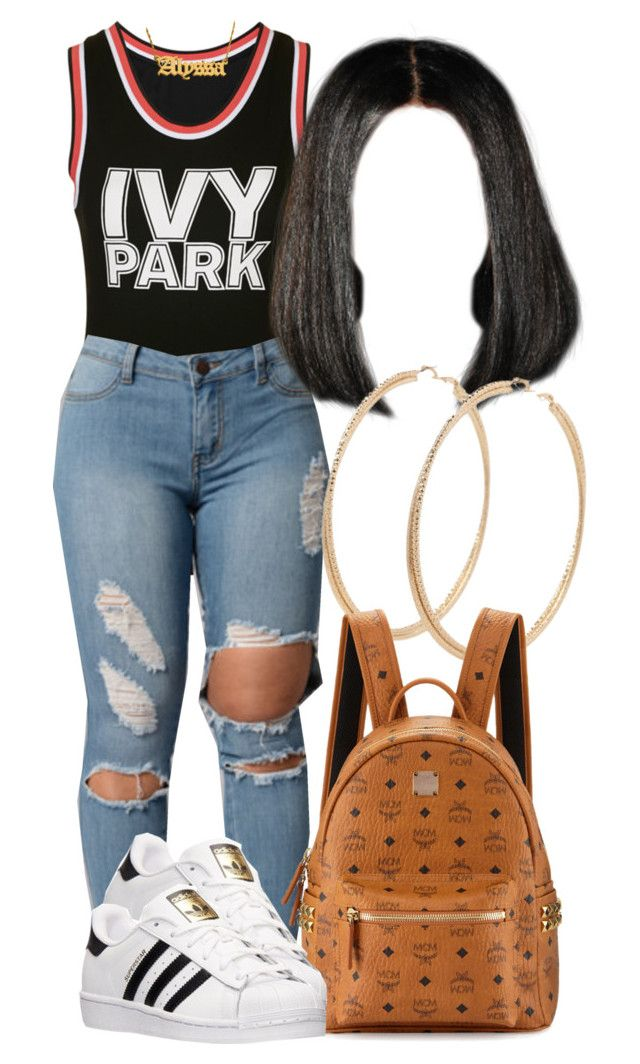 U0026quot;6|5|16u0026quot; by miizz-starburst liked on Polyvore featuring Ivy Park Forever 21 MCM and adidas | # ...