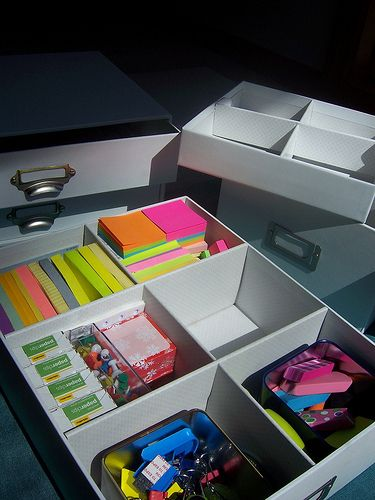 great article about office organizing