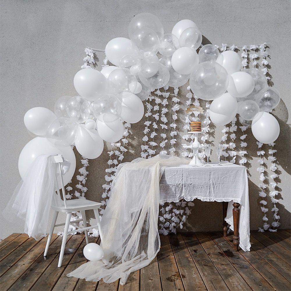 Epingle Sur Guirlande Et Arche De Ballons