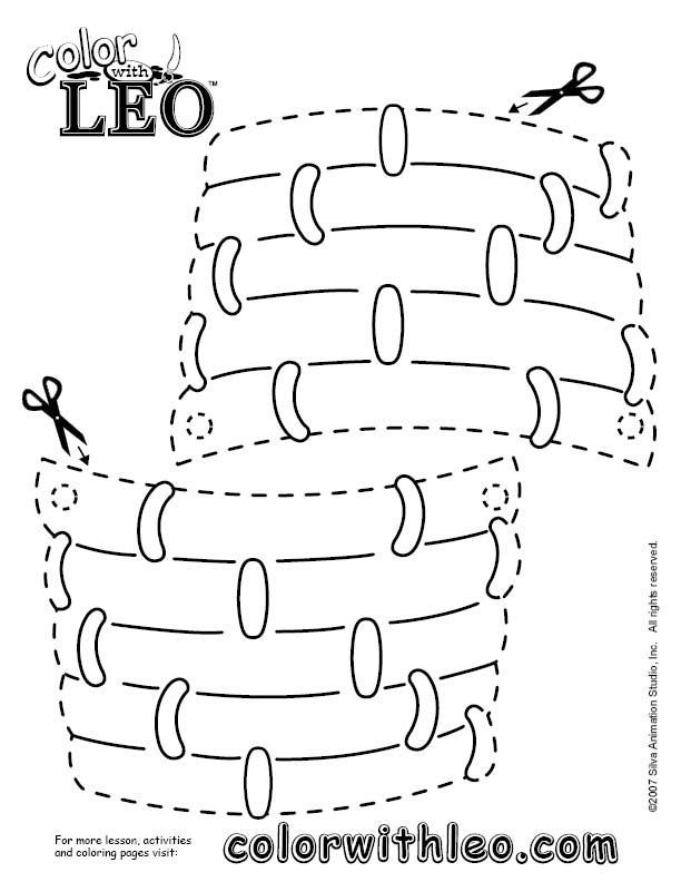 Hot air balloon basket to color and cut out for Oh The Places You – Oh the Places You Ll Go Worksheets