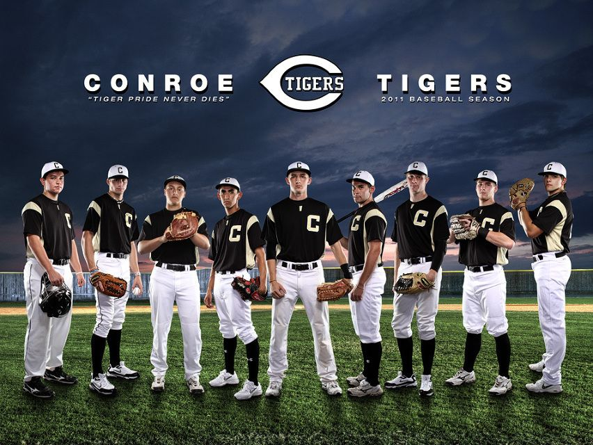 6 boys on each side with coach in the middle for Team picture ideas