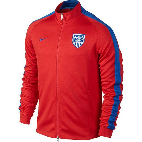 a03758b03d NIKE Men s USA N98 Authentic International Full-Zip Track Jacket from  Sports Authority  100.00